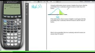 STA2023 Chapter 6 Video 5 Using the Normal Model to Calculate Probabilities