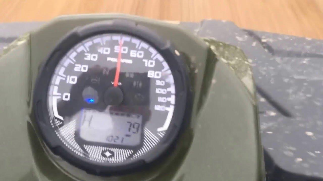 polaris virage top speed