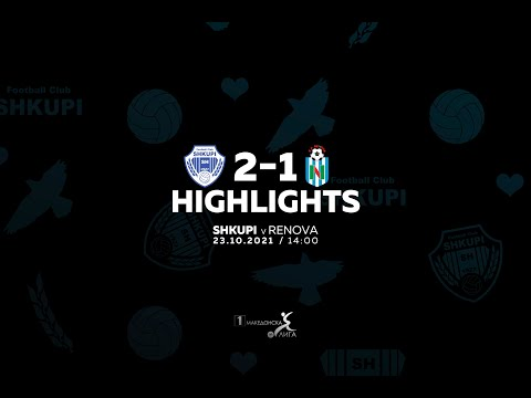 Shkupi Renova Goals And Highlights
