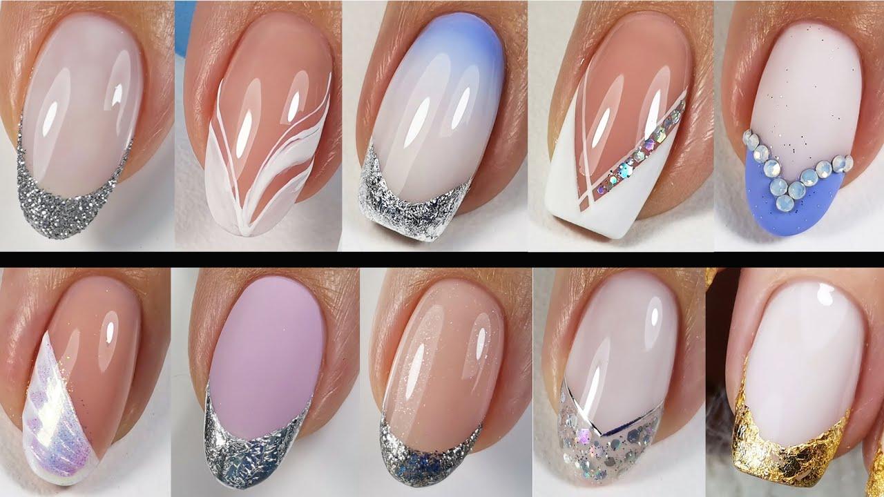 Идеи Дизайна Ногтей 💅 French Manicure 💅 Французский Маникюр