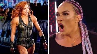 Nia Jax Roman Reigns Heat Becky Lynch UFC Bad News Impact WWE Apologised Wrestling News