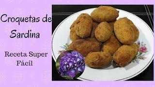 CROQUETAS DE SARDINAS  Mi Cocina