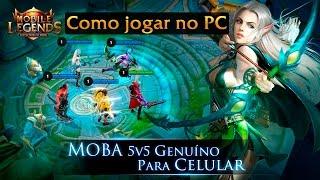 Tutorial: Como jogar Mobile Legends no PC (Nox APP Player)