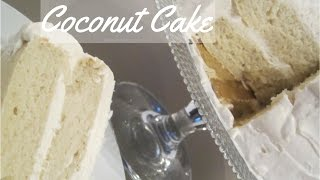 How To Make - Coconut Cake With Whipped Cream Cheese Frosting Recipe | Borrowed Delights - Episode 9
