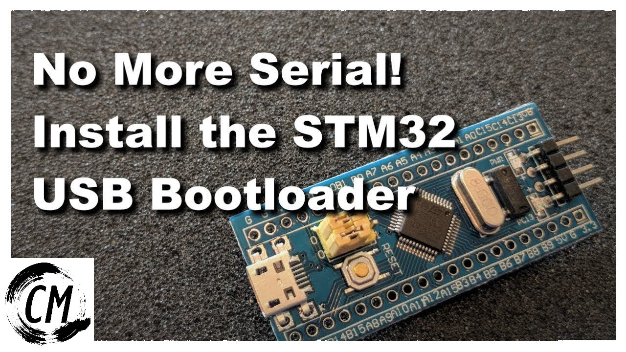 Installing the STM32 USB Bootloader, Easily!
