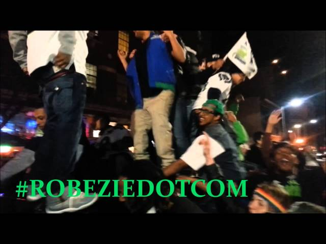 Seahawks Superbowl XLVIII Celebration (Bell Town)