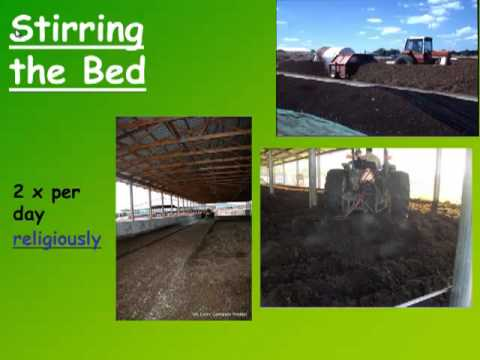 Quality of compost and bedding issues