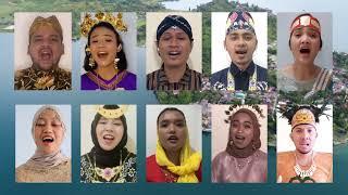 MEDLEY LAGU (BERKIBARLAH BENDERA NEGERIKU, INDONESIA PUSAKA, INDONESIA JAYA) BY DUTA BPJS KESEHATAN