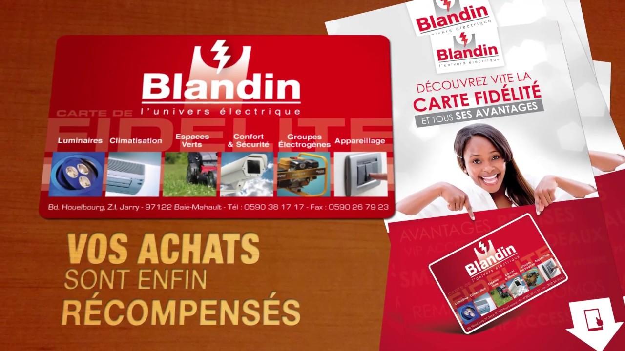 Spot carte de fidélité BLANDIN