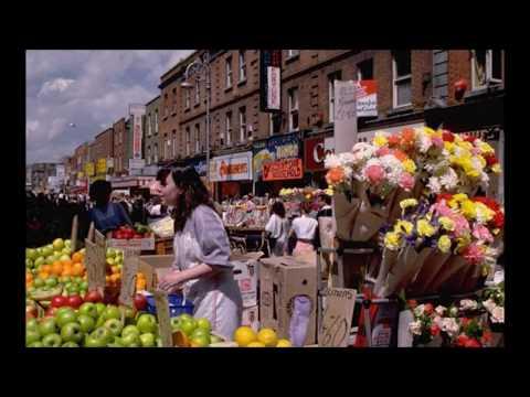 Old Moore Street Dublin in Colour.