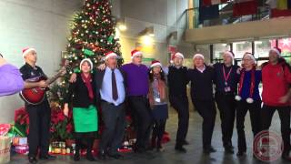 CDNIS Senior Admin Christmas Choir 2014