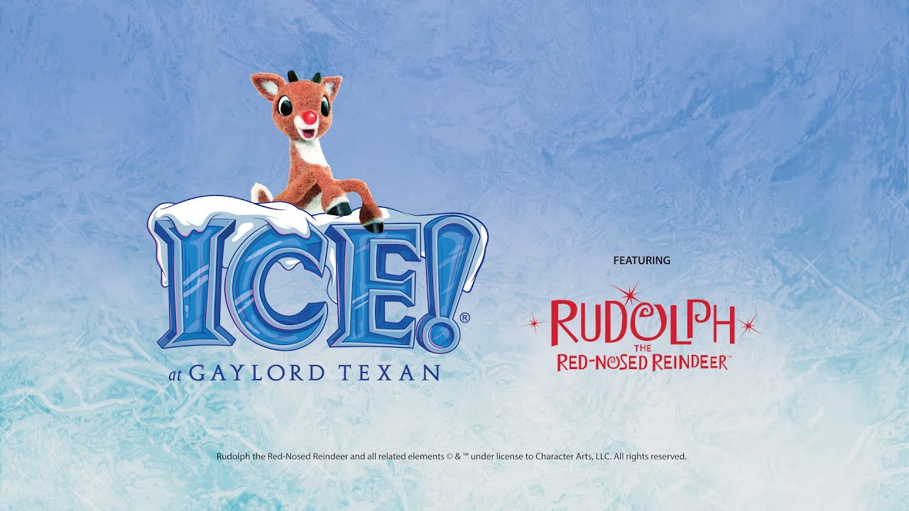 Image result for ice at the gaylord texan rudolph