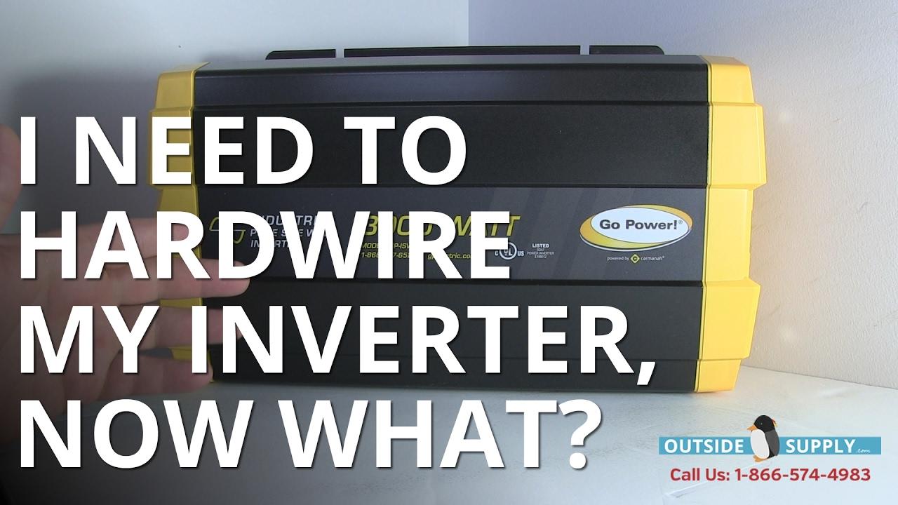 Go Power Sine Wave Hard Wire Inverter 2000 vs 3000 on