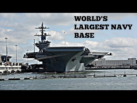 World's Largest Navy Base | Naval Shipyard Tour
