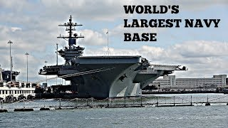 World's Largest Navy Base | Naval Shipyard Tour