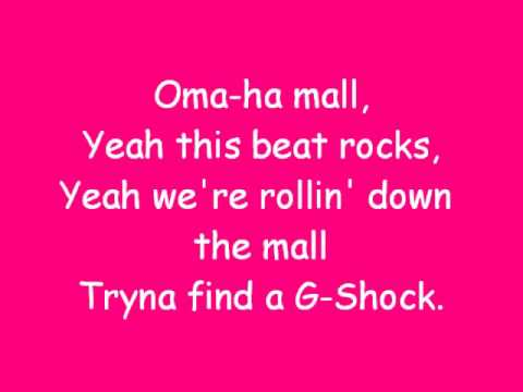 justin bieber omaha mall lyrics