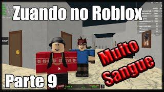 Zuando no Roblox - THE MAD MURDERER (Parte 2) - #9 (ft. Bacardi)