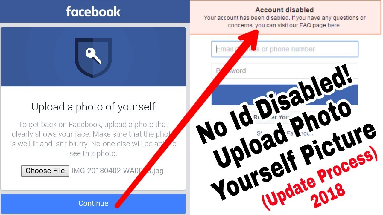 Solved Facebook Photo Yourself Picture Upload Id Disabled Problem