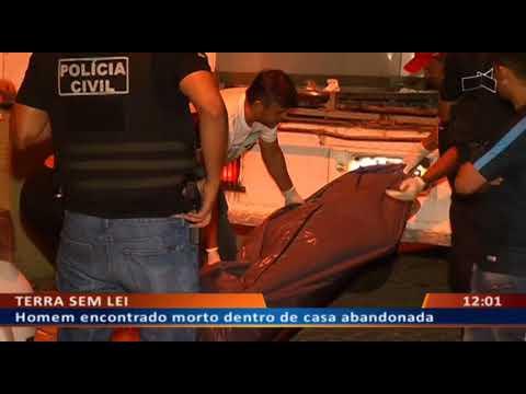 DFA - Homem encontrado morto dentro de casa abandonada