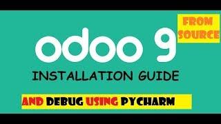 install odoo 9 from source on ubuntu with pycharm