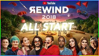 All start in youtube rewind 2018