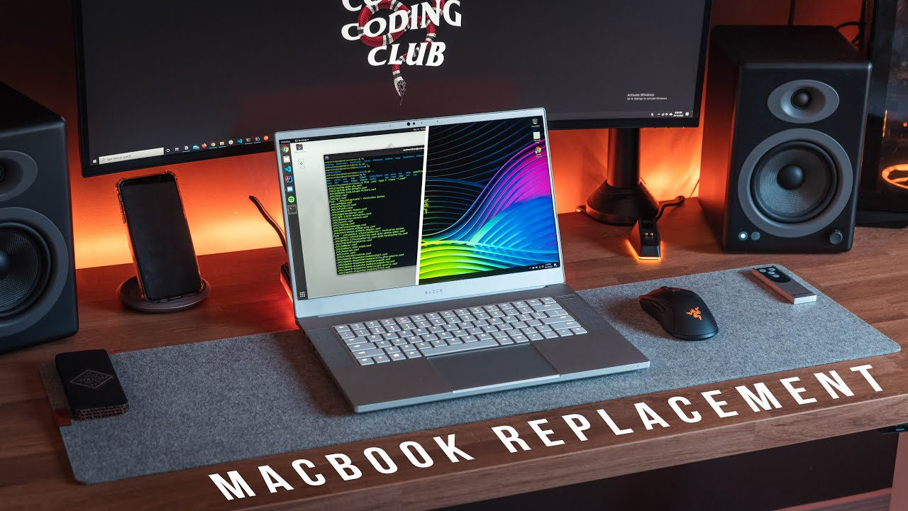 Leaving My Macbook Pro for the Razer Blade 15 | Linux Laptop Set Up 2020