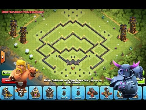 how to build a defense in clash of clans