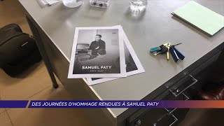 Yvelines | Des journées d'hommage rendues à Samuel Paty