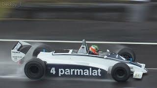 鈴鹿 Sound of ENGINE 2017 DAY1 - FIA Masters Historic F-1 Practice in the rain / DFV全開サウンドはこちらです
