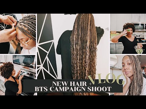 ✨ NEW HAIR + BTS OF CAMPAIGN SHOOT | Faceovermatter