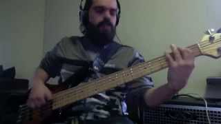 Alain Caron - 1-4-U (Bass cover)