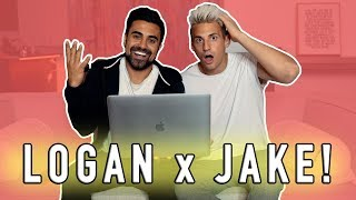 REACTING TO LOGAN PAUL/JAKE PAUL LOVE SONG! w/ George Janko