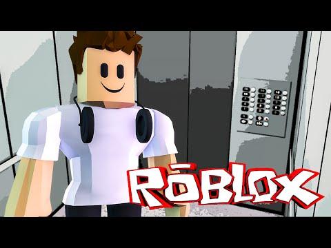 Roblox - TUBARÃO NO ELEVADOR !! (Roblox Elevator Adventure)