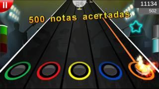 Скачать Guitar Flash Android Modo Dificil Break Me Out 100 FC 20033 Puntos
