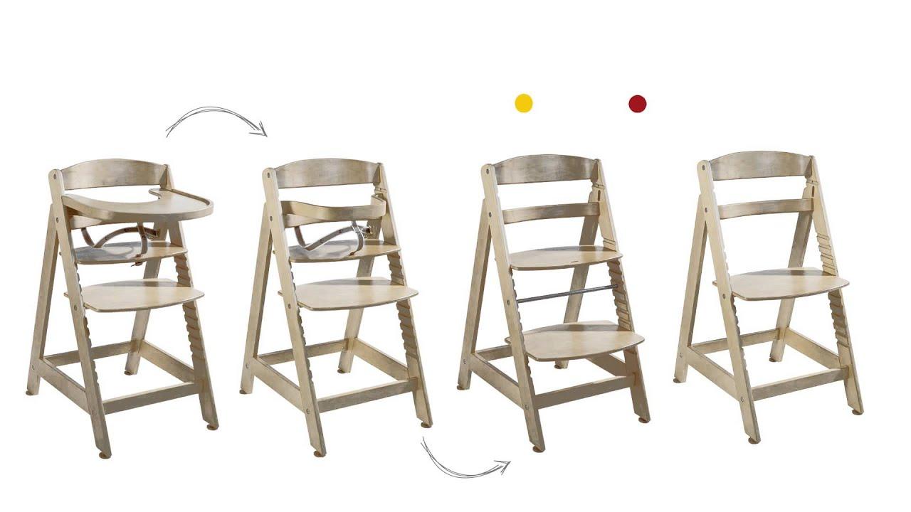 roba treppenhochstuhl sit up maxi youtube. Black Bedroom Furniture Sets. Home Design Ideas