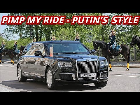 THE BOSS: Putin Shows Off His New Russian-Made Limousine For The Presidential Inauguration Ceremony