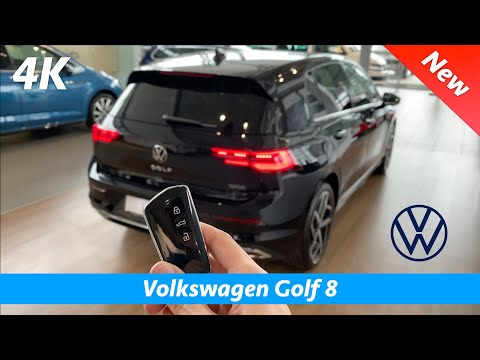 Volkswagen Golf 8 Style 2020 - FIRST In-depth Review In 4K   Interior - Exterior