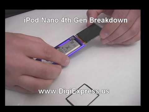 DigiExpress - iPod Nano 4th Generation Breakdown