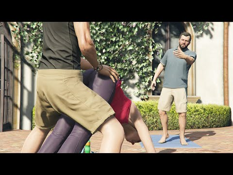 GTA 5 - Gameplay Walkthrough Part 16 - Did Somebody Say Yoga? (Grand Theft Auto V)