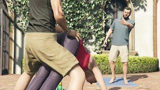 GTA 5 - Gameplay Walkthrough Part 16 - Did Somebody Say Yoga? (Grand Theft Auto V)