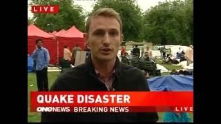 Earthquake Christchurch New Zealand Tuesday 22nd February 2011.