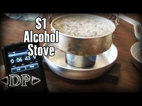 DIY Gear - $1 Alcohol Camp Stove