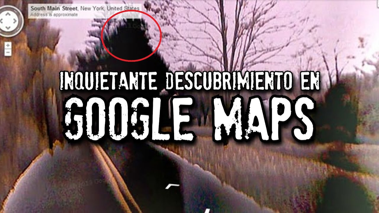 Inquietante descubrimiento en Google Maps y Google Earth