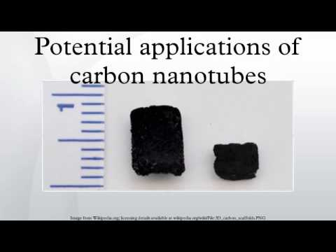 Potential applications of carbon nanotubes