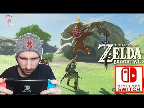 JOUONS A ZELDA BREATH OF THE WILD EN LIVE | NINTENDO SWITCH !