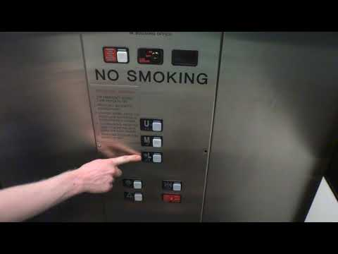 Schindler Hydraulic Elevator at Bloomingdales Fashion Valley Mall San Diego CA