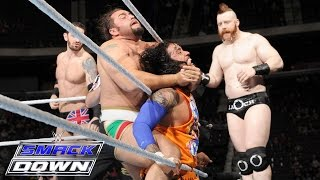 Roman Reigns, Dean Ambrose & The Usos vs. The League of Nations: SmackDown, December 10, 2015