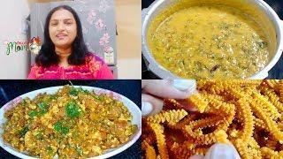 Indian Women / Mom Afternoon To Evening Snack Routine    Paneer Burgi // Tomato Muruku