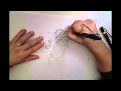 Drawing Witchblade