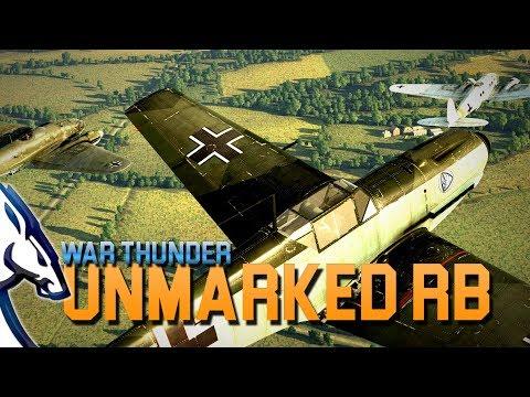 War Thunder: Unmarked RB (War Thunder Gameplay)